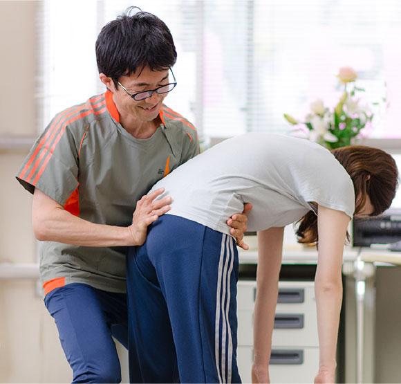 骨盤うごき修正トレーニング